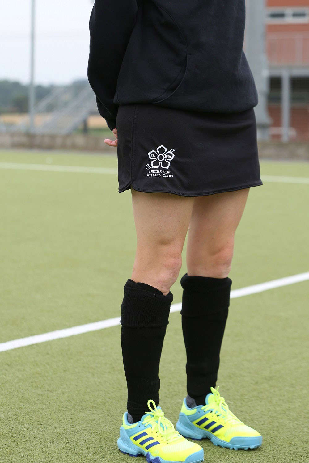 Leicester Ladies Hockey Club Senior Skort Black LHC01