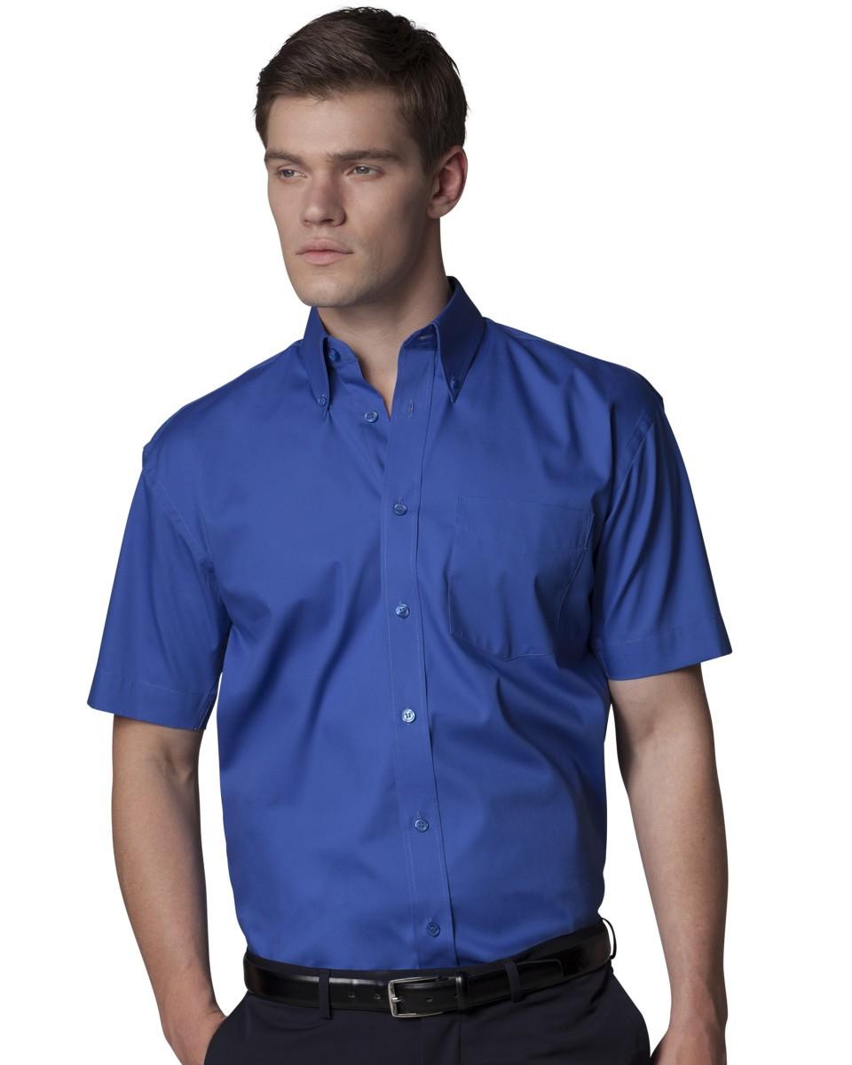 Men's Short Sleeve Corporate Oxford Shirt