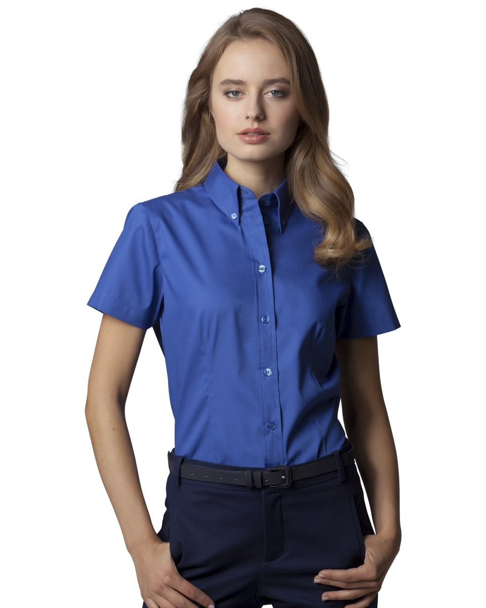 Ladies' Coporate Oxford Short Sleeve Shirt