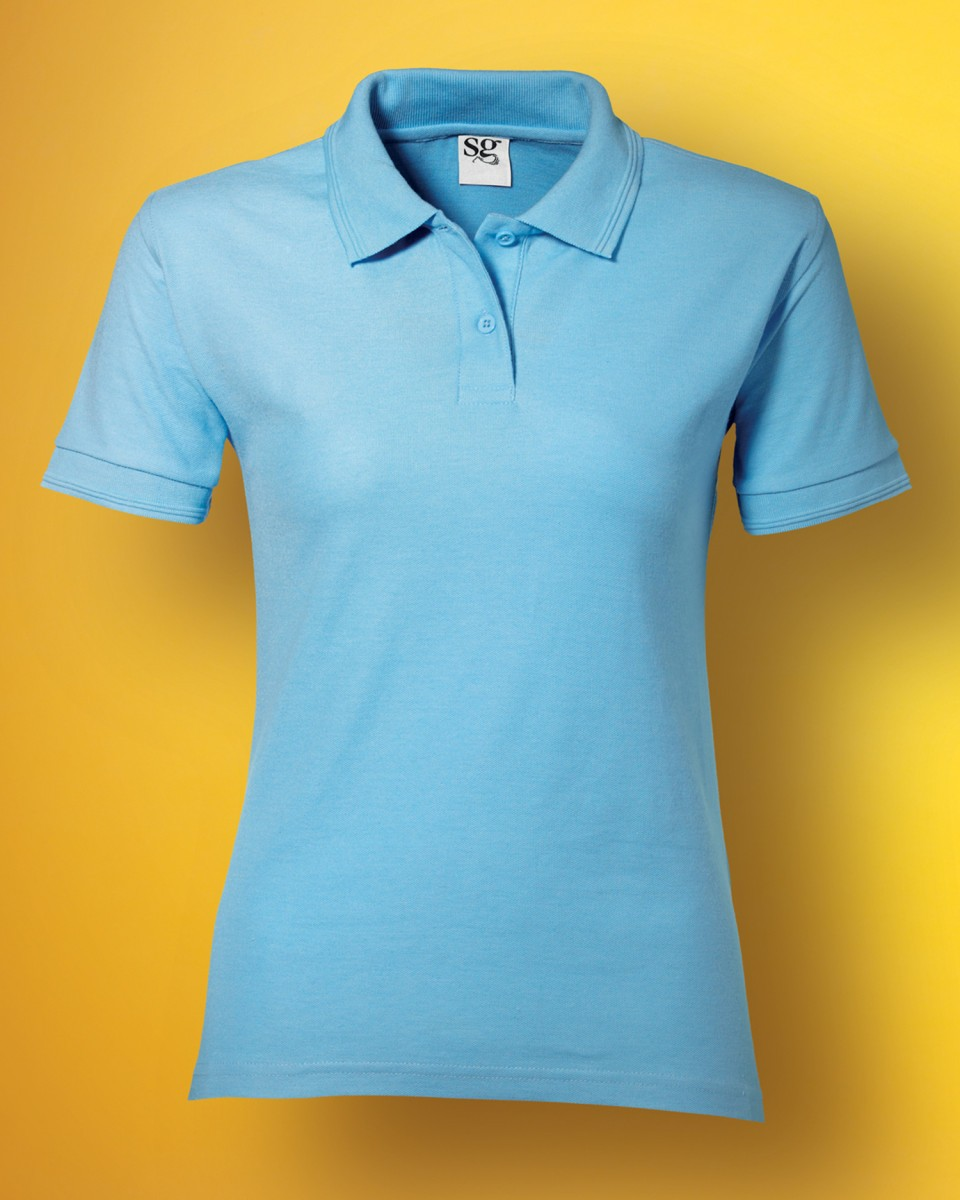 Ladies' Polycotton Polo Shirt