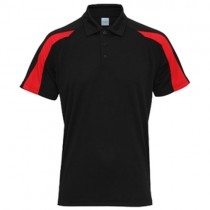 Rothley Park CC Performance Poloshirt Black/Red RCC18