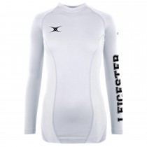 Leicester Hockey Club Womens Baselayer White LHC17