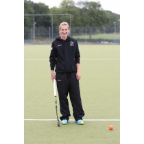 Leicester Ladies Hockey Club Tracksuit Bottoms Black LHC08