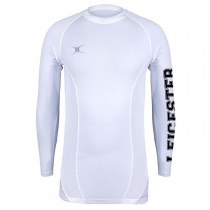 Leicester Hockey Club Mens Baselayer White LHC16