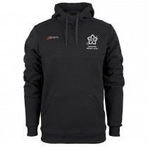 Leicester Hockey Club Mens Hooded Top Black LHC13