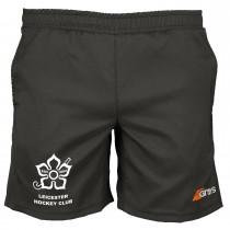 Leicester Hockey Club Mens Shorts Black LHC15
