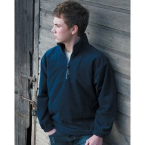 Children's Unlined Active 1/4 Zip Fleece Top