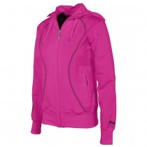 Reece Ladies Full Zip Hooded Sweatshirt