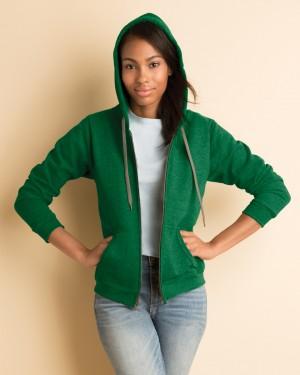 Ladies' Heavy Blend Vintage Full Zip Hooded Sweatshirt