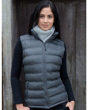 Result Urban Lady Ice Bird Padded Gilet